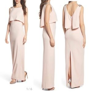 f0890a3a393 Adrianna Papell Dresses - Adrianna Papell Crepe Popover Gown w  Sequins